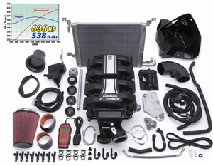 EDELBROCK E-FORCE COMPLETE TRACK COMPETITION SUPERCHARGER SYSTEM FOR 2011-14 FORD MUSTANG (5.0L 4V)  - 15896