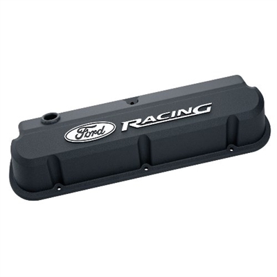 FORD RACING 289-351 SLANT EDGE VALVE COVER BLACK  -- 302-135