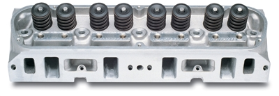 "EDELBROCK STREET LEGAL PERFORMER 5.0/ 5.8L CYLINDER HEADS W/ 1.90"" INTAKE VALVES FOR S/B FORD (COMPLETE, SINGLE) - 60379"
