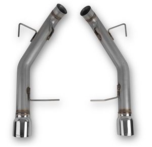 "Hooker Blackheart 11-14 Mustang GT  V8-5.0L 304SS 3"" Axle-Back Exhaust without mufflers  -- 70403301-RHKR"