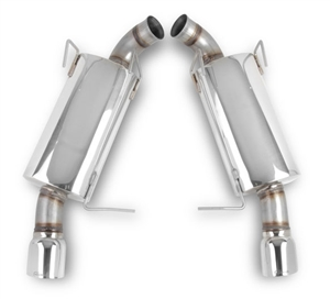"Hooker Blackheart 11-14 Mustang GT V8-5.0L 304SS 3"" Axle-Back Exhaust with mufflers  -- 70403302-RHKR"