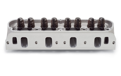 EDELBROCK E-CNC CYLINDER HEADS FOR S/B FORD W/ HYDRAULIC FLAT TAPPET & HYDRAULIC ROLLER CAMSHAFT APPS (COMPLETE, SINGLE)  - 79259
