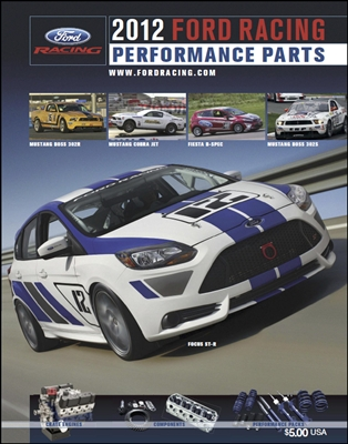 2012 FORD RACING CATALOG -- M-0750-A2012