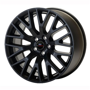 2015-2017 MUSTANG GT PERFORMANCE PACK REAR WHEEL MATTE BLACK 19X9.5 -- M-1007-M1995B