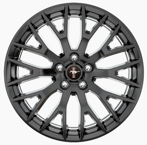 2015 2016 Mustang Gt Performance Pack Wheel Satin Black 19x9