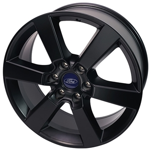 "2015-2017 F-150 20"" X 8.5"" SIX SPOKE WHEEL - MATTE BLACK -- M-1007-P2085MB"
