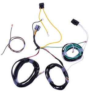 F-SERIES AUX LIGHT HARNESS FOR TRUCKS EQUIPPED WITHOUT OEM AUX DASH SWITCHES -- M-15525-HNSA