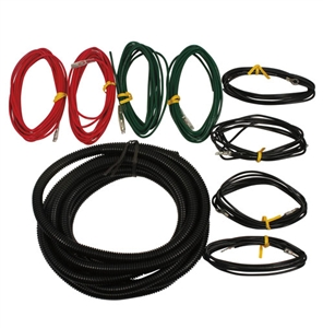 F-SERIES AUX LIGHT HARNESS FOR TRUCKS EQUIPPED WITH OEM SWITCHES -- M-15525-HNSB