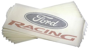 "FORD RACING VINYL DIE-CUT 15"" DECAL (10 PACK) -- M-1820-FR15"