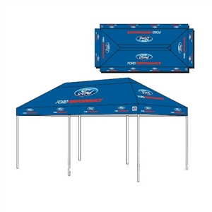 FORD PERFORMANCE 10' X 20' E-Z UP TENT -- M-1827-T20A