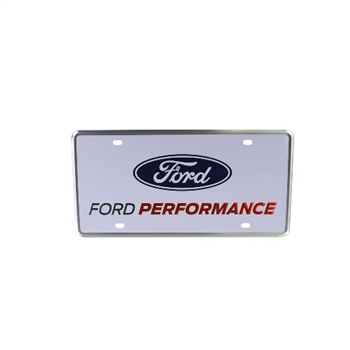 FORD PERFORMANCE LICENSE PLATE - SINGLE -- M-1828-FPONE