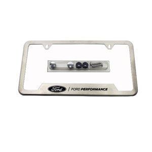 STAINLESS STEEL FORD PERFORMANCE LICENSE PLATE FRAME -- M-1828-SS304C