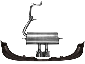 FORD RACING 2012-2014 FORD FOCUS HATCHBACK ST CATBACK EXHAUST SYSTEM -- M-5230-FSHA