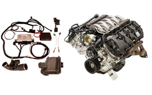 5.0L 420HP+ 2014 MUSTANG CRATE ENGINE AND CONTROLS PACK -- M-6007-M50K