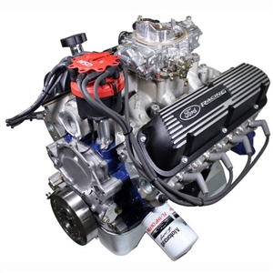 M-6007-X2347DF FORD PERFORMANCE X2347D 360HP STREET CRUISER X2 HEADS FRONT SUMP CRATE ENGINE