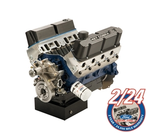 Ford Performance 427 Cubic Inch 450HP X Head Front Sump Crate Engine Assembly -- M-6007-X427FFT