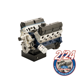 "FORD RACING 5.0L /BOSS 302-363 CID SMALL BLOCK 500 HP ""Z"" HEAD FORD RACING PERFORMANCE CRATE ENGINE ASSEMBLY (Front Sump) -- M-6007-Z363FT"