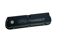 "LASER ETCHED BLACK ""FORD RACING"" VALVE COVERS -- M-6582-LE302BK"