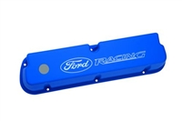 "LASER ETCHED BLUE ""FORD RACING"" VALVE COVERS -- M-6582-LE302BL"