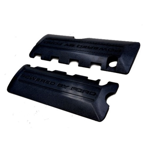 MUSTANG 5.0L COYOTE BLACK COIL COVERS  -- M-6P067-M50BL