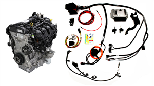 Ford Performance 2.0L TiVCT I-4 Naturally Aspirated Engine and Control Pack Kit -- M-9000-TIVCT