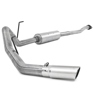 "MBRP 2011-2014 Ford F150, V6 Ecoboost 3"" Cat Back, Single Side Exit, Aluminized  -- S5236AL"