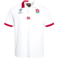 Canterbury Junior England Rwc Vapodri Home Short Sleeved Classic Jersey