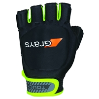 Grays Touch Hockey Glove (Black/Fluorescent Yellow)