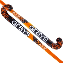 Grays Blast Ultrabow Senior Hockey Stick. (Black/Orange)