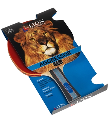 Lion Aggressor Table Tennis Bat