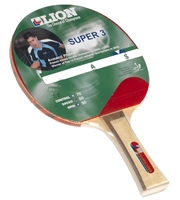 Lion Super 3 Allrounder Table Tennis Bat