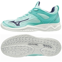 Mizuno Wave Ghost Shadow NB Netball Shoe (Light Blue/Astral Aura/Blue Turquoise)