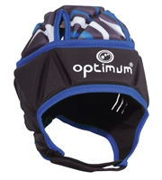 Optimum Razor Headguard Black-Blue