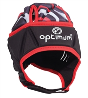 Optimum Razor Headguard Black-Red