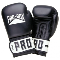 Pro Box Leather Club Essentials Black Gloves