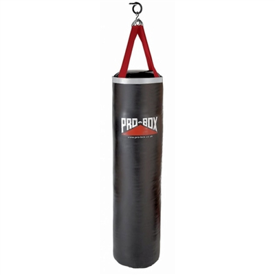 Pro Box 'Black Collection' Pu Ballistic Punch Bag 5ft