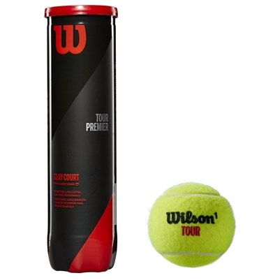 Wilson Tour Premier Tennis Balls For Clay Court (2020)