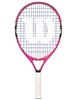 Wilson Burn Pink 21 inch Junior Tennis Racket
