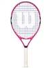 Wilson Burn Pink 23 inch Junior Tennis Racket
