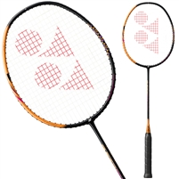 Yonex ASTROX SMASH Badminton Racket. (Black/Clear Orange)