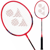 Yonex B4000 Badminton Racket. (Clear Red)