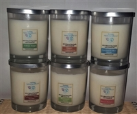 100% Natural Soy Candles and Tea Lights