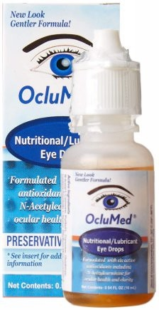 OcluMed Nutritional Eye Drops -  Advanced Scientific, LLC. 16ml / 50 day supply