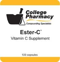 Ester-C (Vitamin C) - College Pharmacy, 500mg /  100 capsules