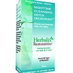 Herbalix Restoratives Nighttime Cleansing Detox Deoderant - 2.5oz