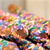 Milk Chocolate w/ Multi-Colored Sprinkles (1 dozen)