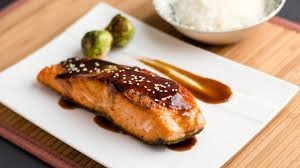 Salmon Fillet with Sauce