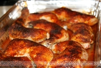 Roasted Chicken with Side