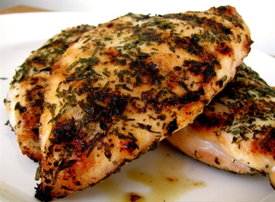 Grilled Chicken with Side