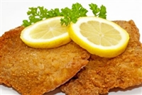 Breaded Schnitzel with Side
